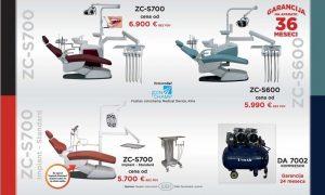 Aktuelna ponuda stomatoloskih stolica i kompresora (str 2)